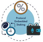 Protocol Embedded Staking – A new way of stabilizing crypto tokens