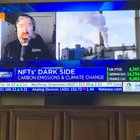 CNBC making people aware buying NFT's leads to melting ice caps, forest fires, and flooding. I think someone at CNBC wants to buy cheaper NFT's