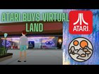 This Virtual Land Was Bought Buy ATARI?! New YouTube video! I'm going to be posting more decentraland related content to help spread to word.