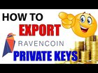 How To Find Private Key in Ravencoin Core Wallet   RVN Tutorials