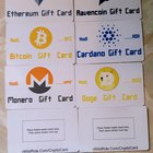 Got my next batch in of gift cards. I added a few new ones to give out to some of my students if they pass a quiz at the end. It's not much but they get excited to get into crypto.
