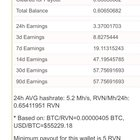 Ravenminer.com has a min 5 rvn payout if you are mining. Best payout structure I've seen so far and can mine pps as well as pplns