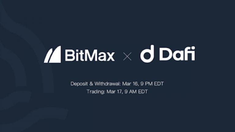 DAFI to List DAFI Token With BitMax