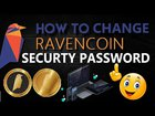 How To Change Securty Password of Ravencoin Core Wallet | RVN Coin
