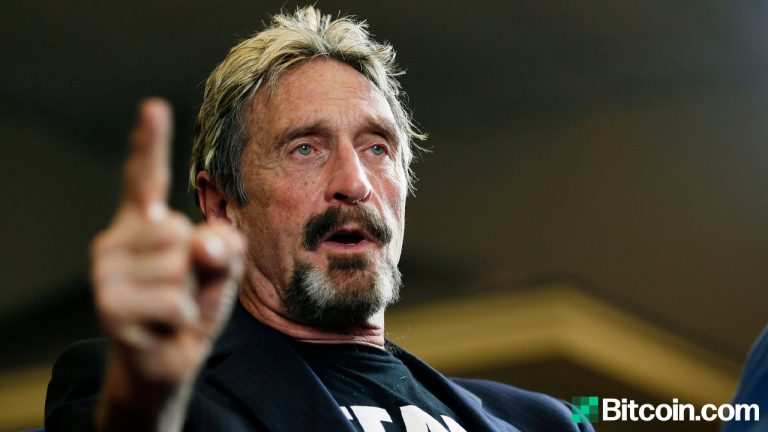 John McAfee Indicted by DOJ Over Alleged Cryptocurrency Fraud Charges