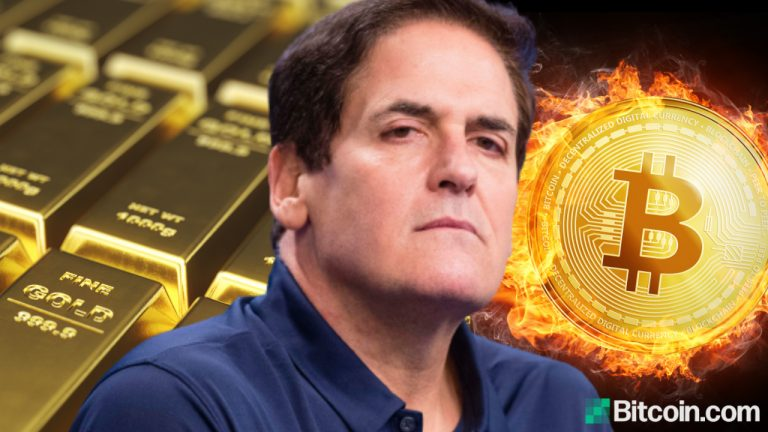Mark Cuban Argues Bitcoin Is Better Than Gold, Telling Peter Schiff: 'Gold Is Dead, Move on'