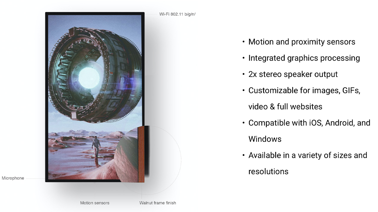 Meet Qonos- A Purpose-Built Digital Frame for NFT Art and Collectibles