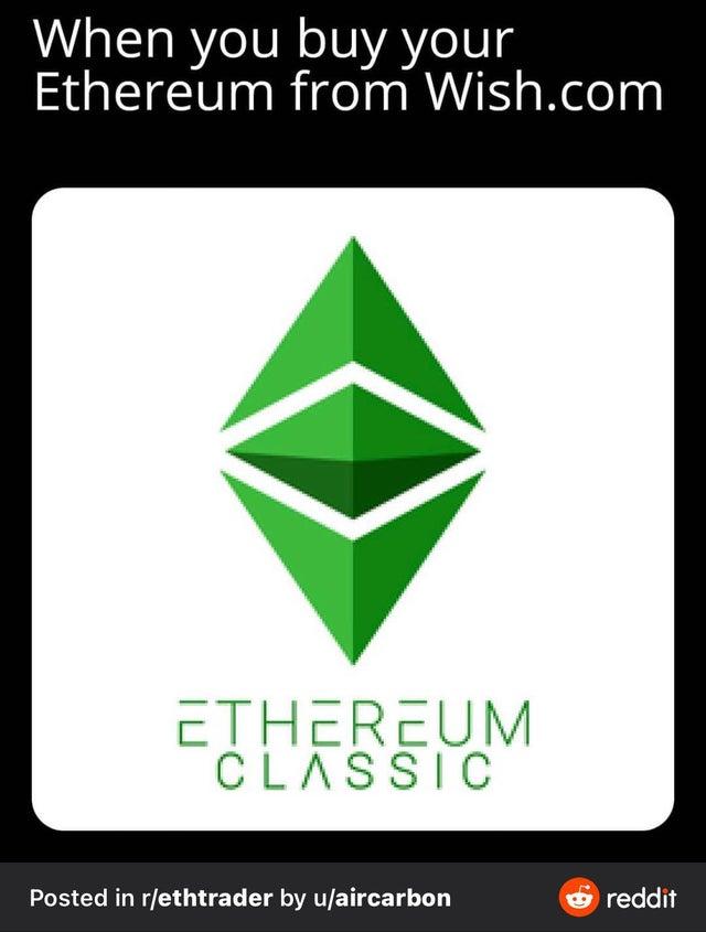 ETC isn't Ethereum.
