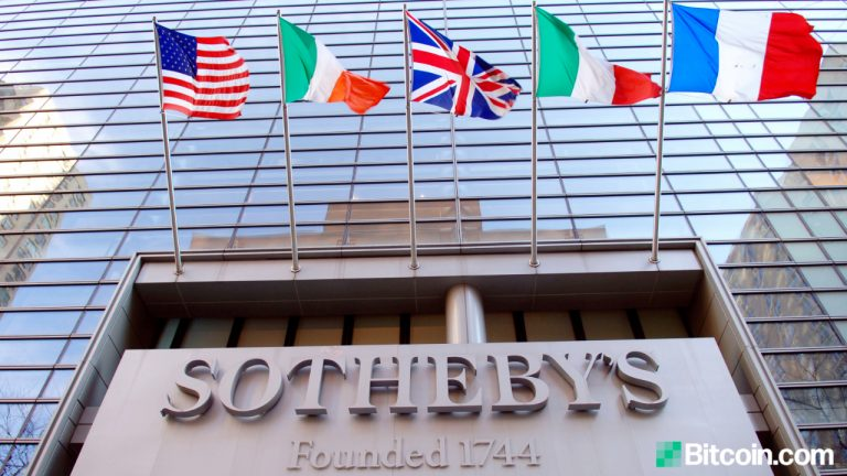 World's Largest Auction House Sotheby's to Accept Cryptocurrencies via Coinbase for Physical Art