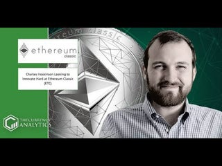 Charles Hoskinson says Ethereum will Beat Bitcion in the Long Run